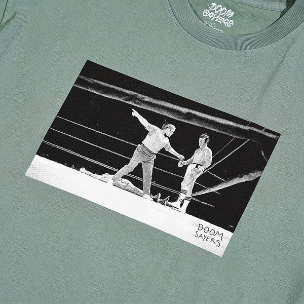 Doom Sayers Knockout T Shirt Ocean Detail