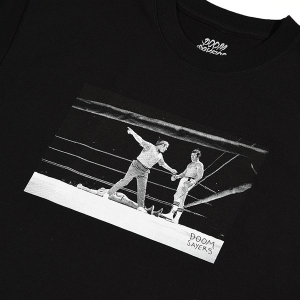 Doom Sayers Knockout T Shirt Black Detail