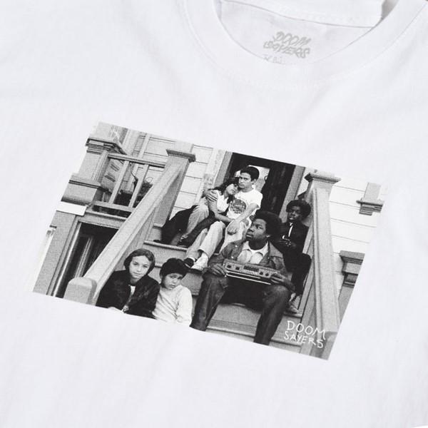 Doom Sayers 1266 De Haro T Shirt White Detail.