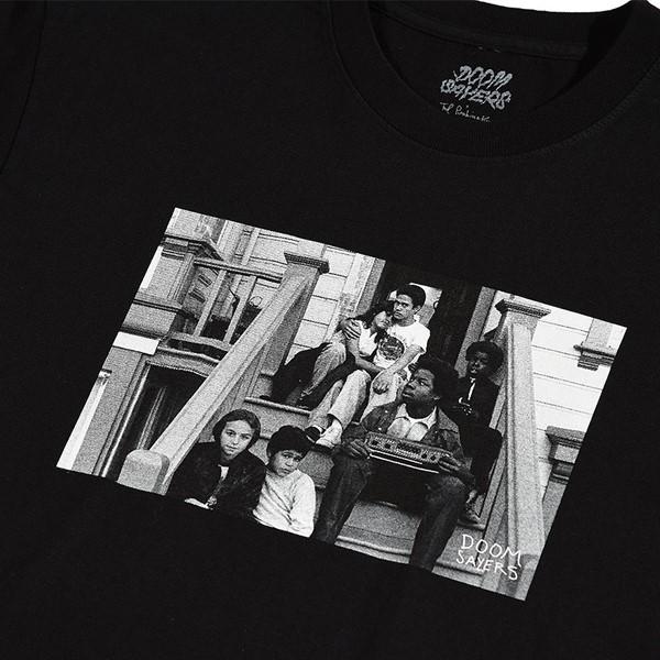 Doom Sayers 1266 De Haro T Shirt Black Detail.