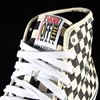 Vans AV Classic High Shoes Black, White Checkerboard Tongue