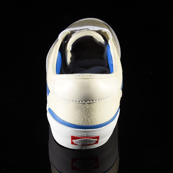Vans Chima Pro 2 Shoe (Center Court) Classic White, Victoria Blue Rotate 12 O'Clock
