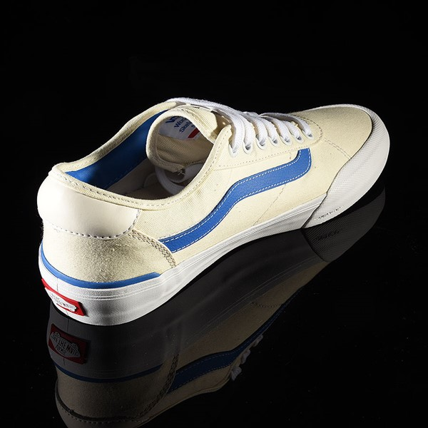 Vans Chima Pro 2 Shoe (Center Court) Classic White, Victoria Blue Rotate 1:30