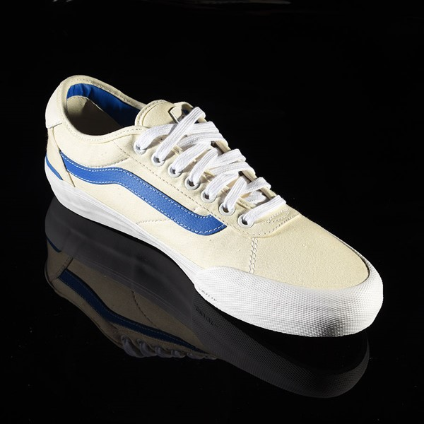 Vans Chima Pro 2 Shoe (Center Court) Classic White, Victoria Blue Rotate 4:30