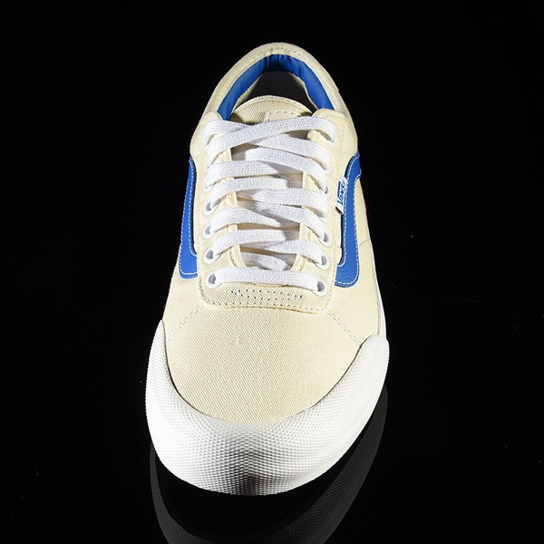Vans Chima Pro 2 Shoe (Center Court) Classic White, Victoria Blue Rotate 6 O'Clock