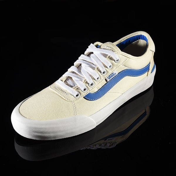 Vans Chima Pro 2 Shoe (Center Court) Classic White, Victoria Blue Rotate 7:30