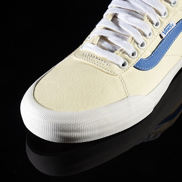Vans Chima Pro 2 Shoe (Center Court) Classic White, Victoria Blue Closeup