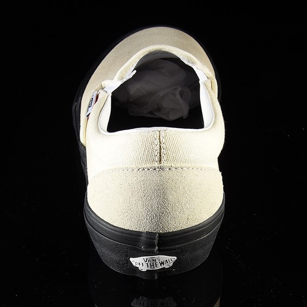 Vans Slip On Pro Shoes Classic White, Black Rotate 12 O'Clock