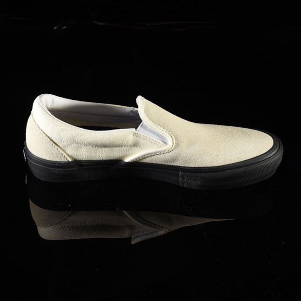 Vans Slip On Pro Shoes Classic White, Black Rotate 3 O'Clock