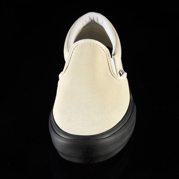 Vans Slip On Pro Shoes Classic White, Black Rotate 6 O'Clock