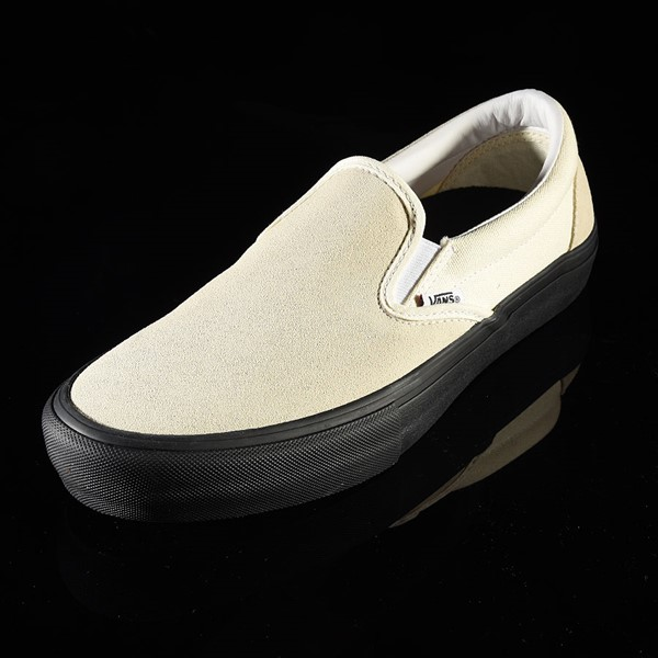 Vans Slip On Pro Shoes Classic White, Black Rotate 7:30