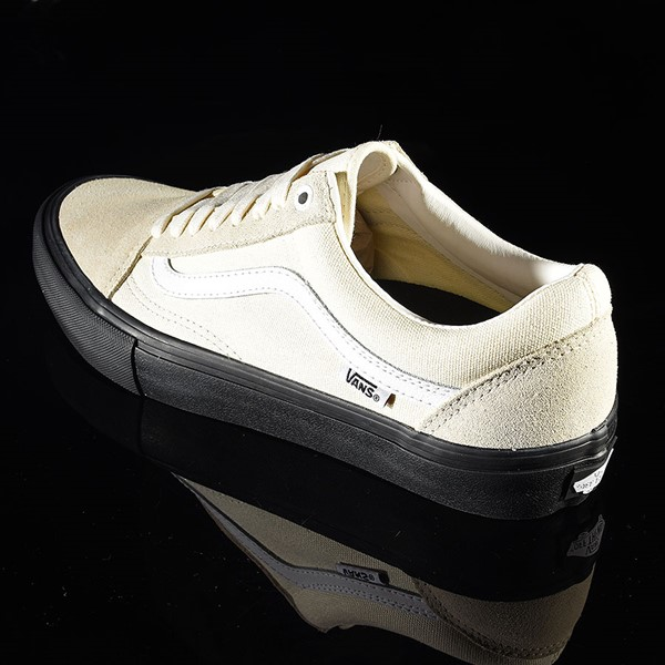 Vans Old Skool Pro Shoes Classic White, Black Rotate 7:30