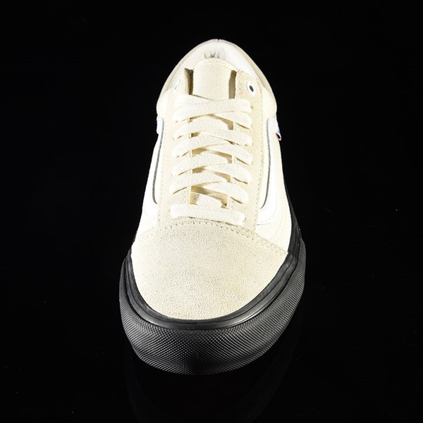 Vans Old Skool Pro Shoes Classic White, Black Rotate 6 O'Clock
