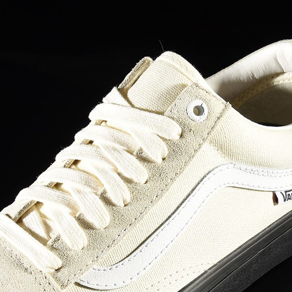 Vans Old Skool Pro Shoes Classic White, Black Tongue