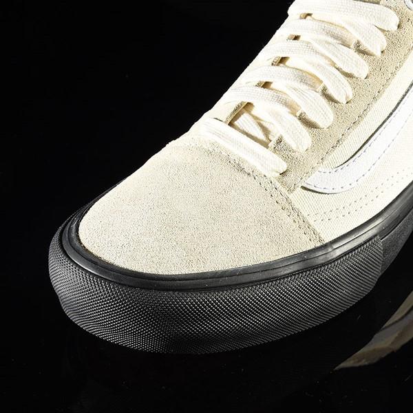 Vans Old Skool Pro Shoes Classic White, Black Closeup