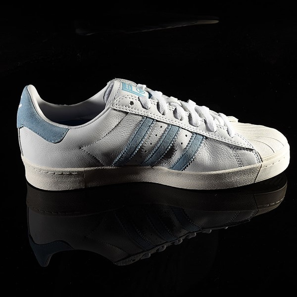 adidas Superstar Vulc ADV Shoe White, Chalk White, Krooked Rotate 3 O'Clock