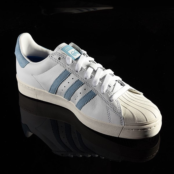 adidas Superstar Vulc ADV Shoe White, Chalk White, Krooked Rotate 4:30