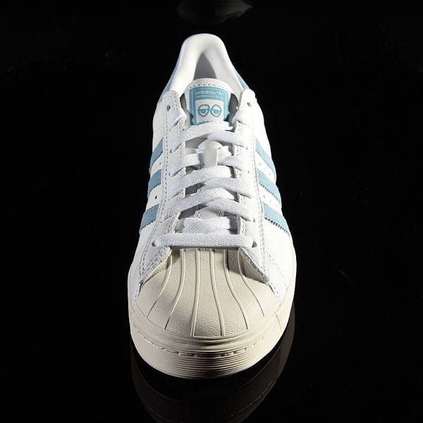 adidas Superstar Vulc ADV Shoe White, Chalk White, Krooked Rotate 6 O'Clock