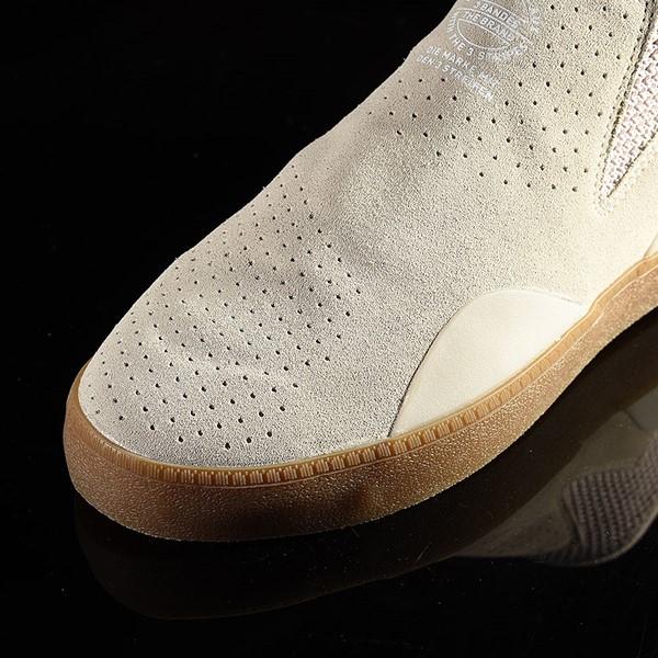 adidas 3ST.002 Shoes Clear Brown, White, Gum Closeup