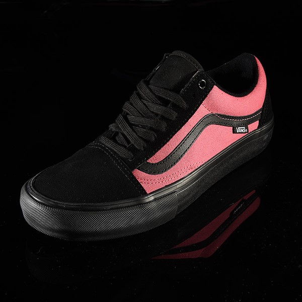 Vans Old Skool Pro Shoes (Asymmetry) Black, Blue, Rose Rotate 7:30