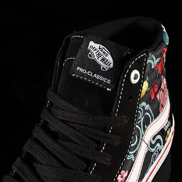 Vans Sk8-Hi Pro Shoes Lizzie Armanto, Floral Tongue