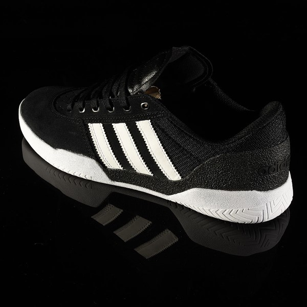 adidas City Cup Shoe Black, White, Gum Rotate 7:30