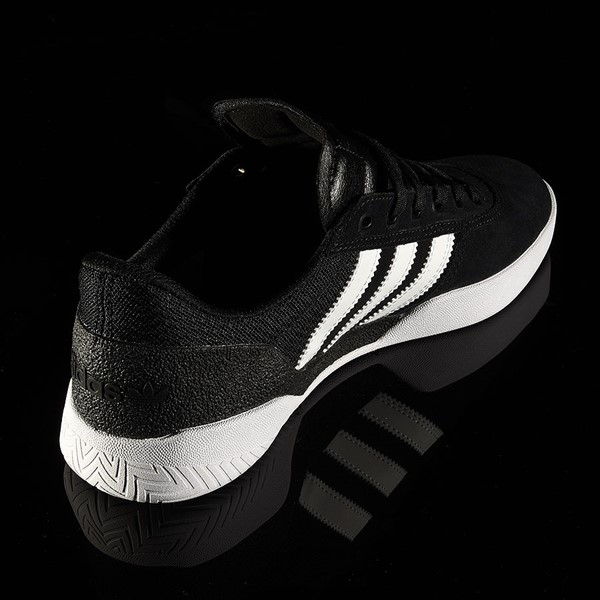 adidas City Cup Shoe Black, White, Gum Rotate 1:30