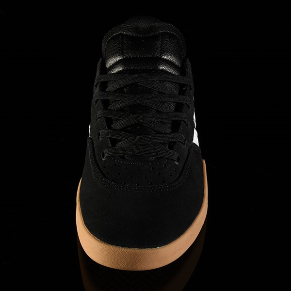 adidas City Cup Shoe Black, White, Gum Rotate 6 O'Clock