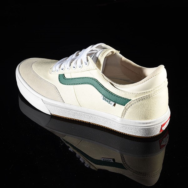 Vans Gilbert Crockett Pro Shoes (Center Court) Classic White, Evergreen Rotate 7:30