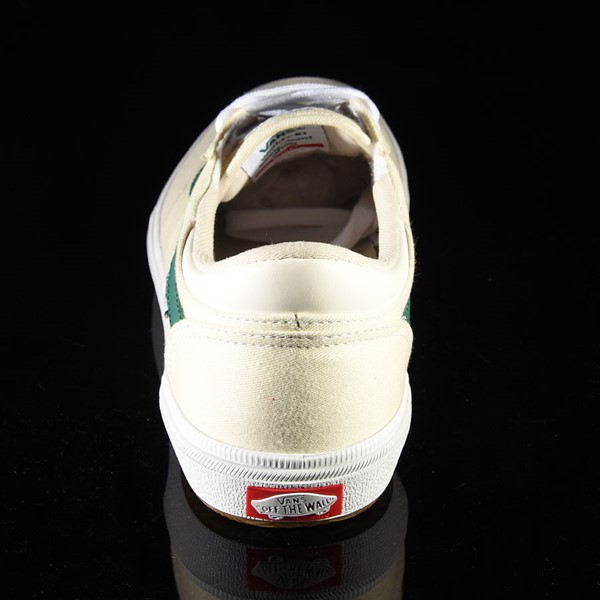 Vans Gilbert Crockett Pro Shoes (Center Court) Classic White, Evergreen Rotate 12 O'Clock