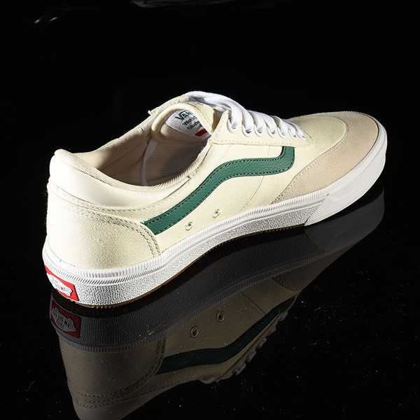 Vans Gilbert Crockett Pro Shoes (Center Court) Classic White, Evergreen Rotate 1:30