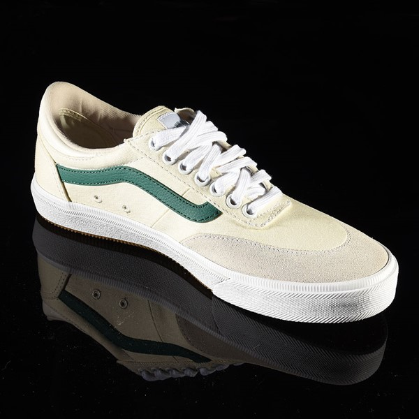 Vans Gilbert Crockett Pro Shoes (Center Court) Classic White, Evergreen Rotate 4:30