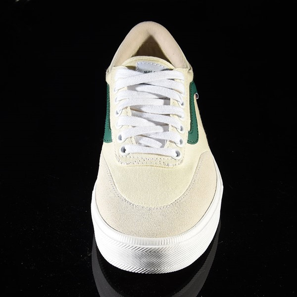 Vans Gilbert Crockett Pro Shoes (Center Court) Classic White, Evergreen Rotate 6 O'Clock