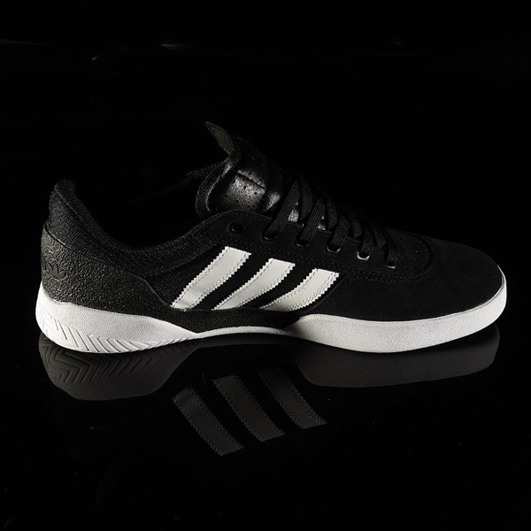 adidas City Cup Shoe Black, White, White Rotate 3 O'Clock