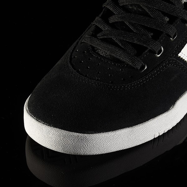 adidas City Cup Shoe Black, White, White Closeup
