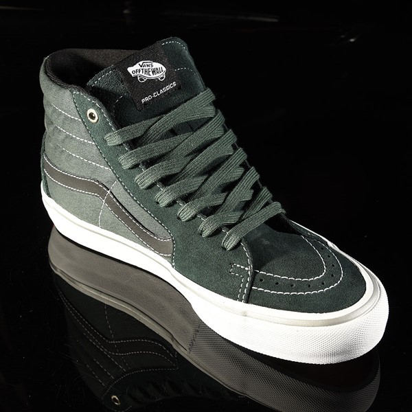 Vans Sk8-Hi Pro Shoes Independent, Spruce Rotate 4:30