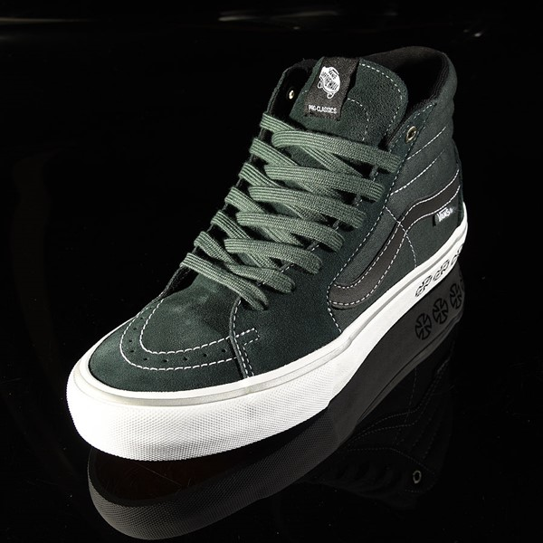 Vans Sk8-Hi Pro Shoes Independent, Spruce Rotate 7:30