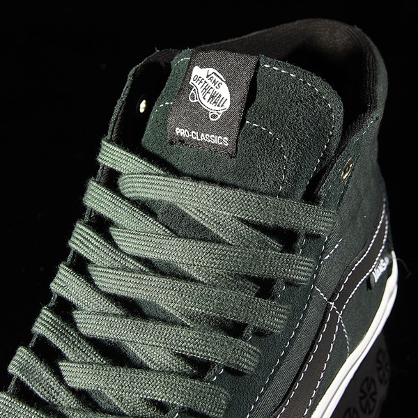 Vans Sk8-Hi Pro Shoes Independent, Spruce Tongue
