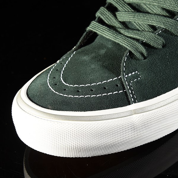 Vans Sk8-Hi Pro Shoes Independent, Spruce Closeup
