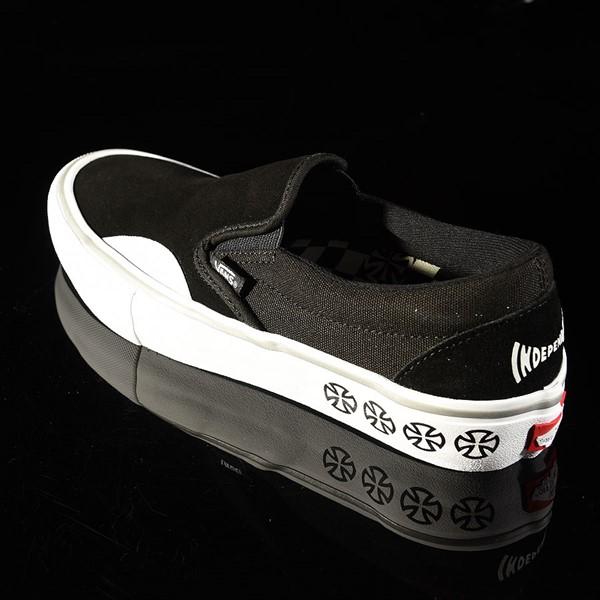 Vans Slip On Pro Shoes Independent, Black Rotate 7:30