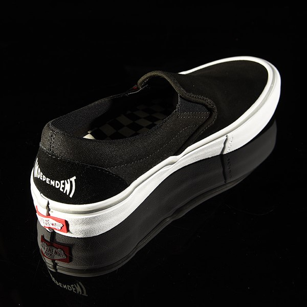 Vans Slip On Pro Shoes Independent, Black Rotate 1:30