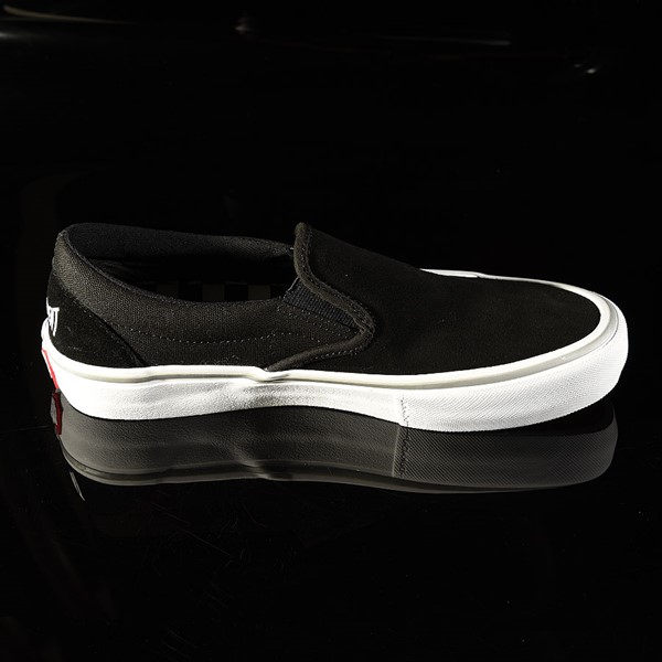 Vans Slip On Pro Shoes Independent, Black Rotate 3 O'Clock