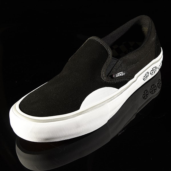 Vans Slip On Pro Shoes Independent, Black Rotate 7:30