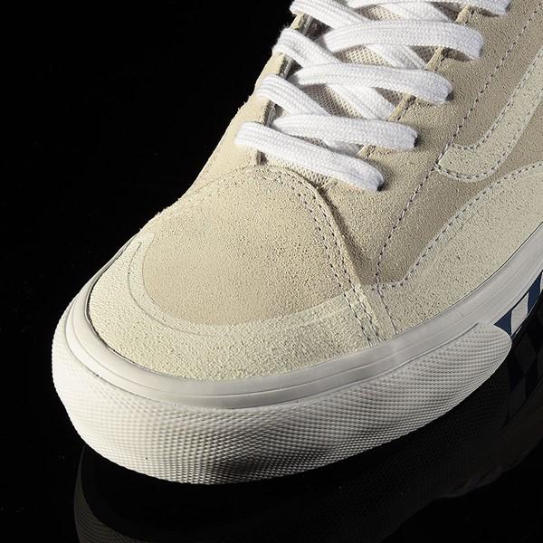 Vans TNT Advanced Prototype Shoe Checkerboard, Marshmellow Closeup