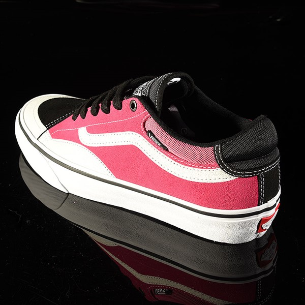 Vans TNT Advanced Prototype Shoe Black, Magenta, White, Black Rotate 7:30