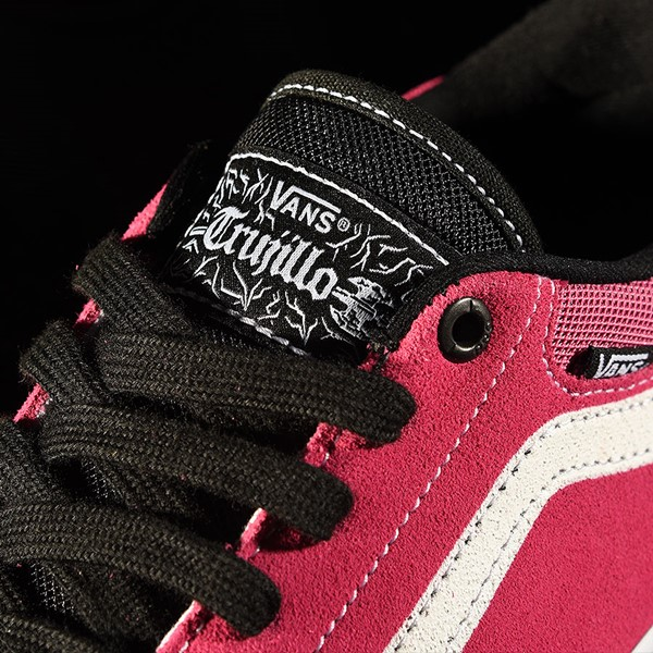 Vans TNT Advanced Prototype Shoe Black, Magenta, White, Black Tongue