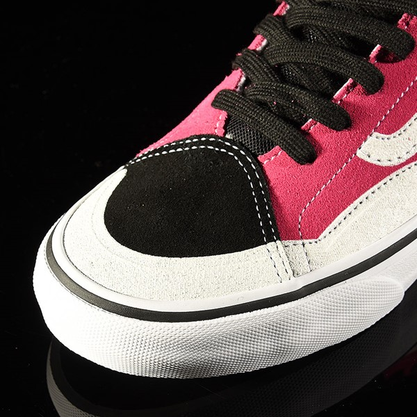 Vans TNT Advanced Prototype Shoe Black, Magenta, White, Black Closeup