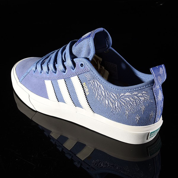 adidas Matchcourt Low RX Shoes Nora Vasconcellos, Real Lilac, White, Chalk Purple Rotate 7:30