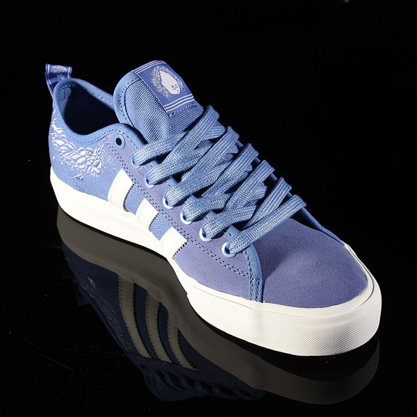 adidas Matchcourt Low RX Shoes Nora Vasconcellos, Real Lilac, White, Chalk Purple Rotate 4:30