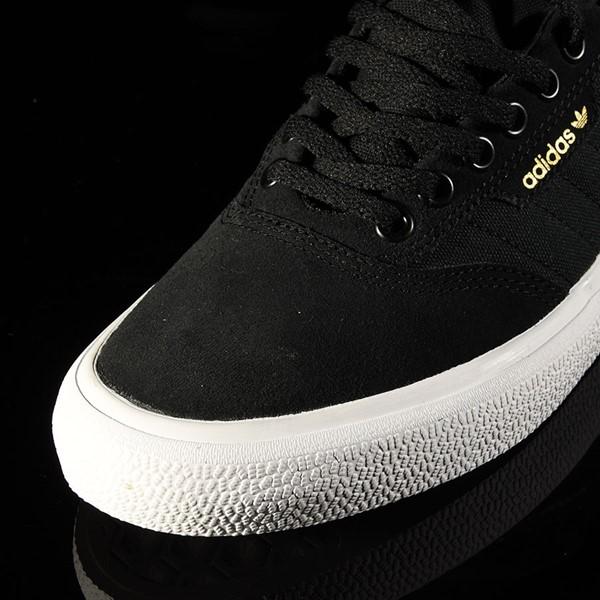adidas 3MC Shoe Black, White, Black Closeup